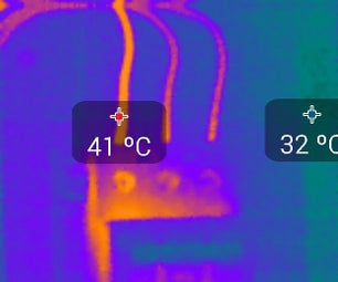 Using a Thermal Camera to Find Electrical Problems!