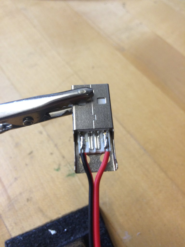 Cut Wires and Solder to Connectors