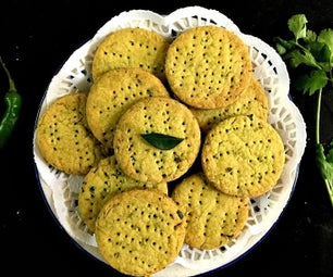Khara Biscuit/Indian Spiced Savory Cookies