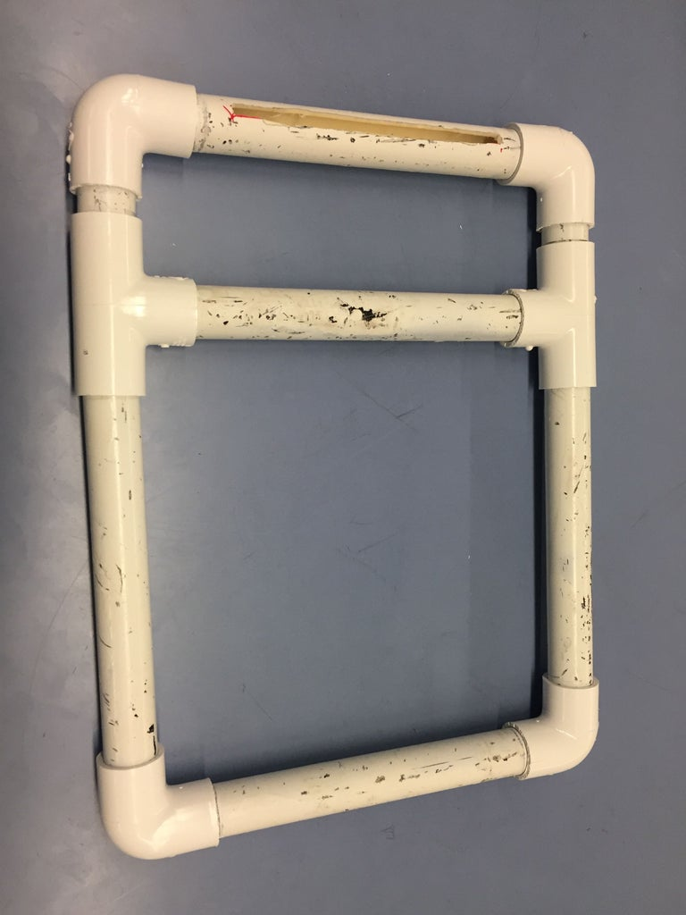 Cut a Slot for the Acrylic Sheet and Glue It in Place