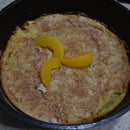 Easy Dutch Oven Peach Cobbler