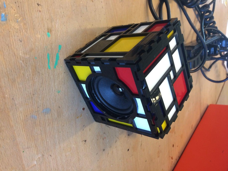 Piet Mondrian Inspired Speaker