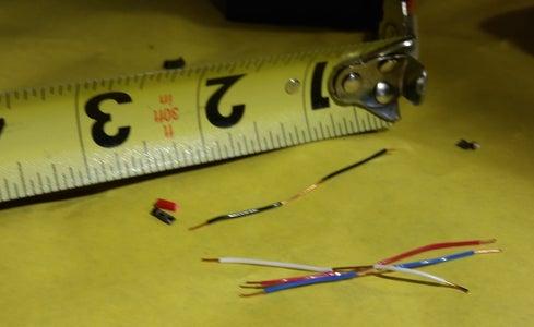 Prepare 4x 3-way Connector Wires