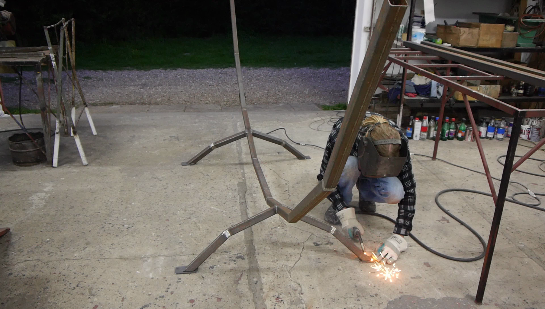Feet And... More Welding!