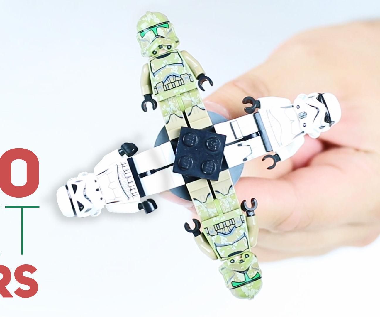 3 LEGO Fidget Spinners