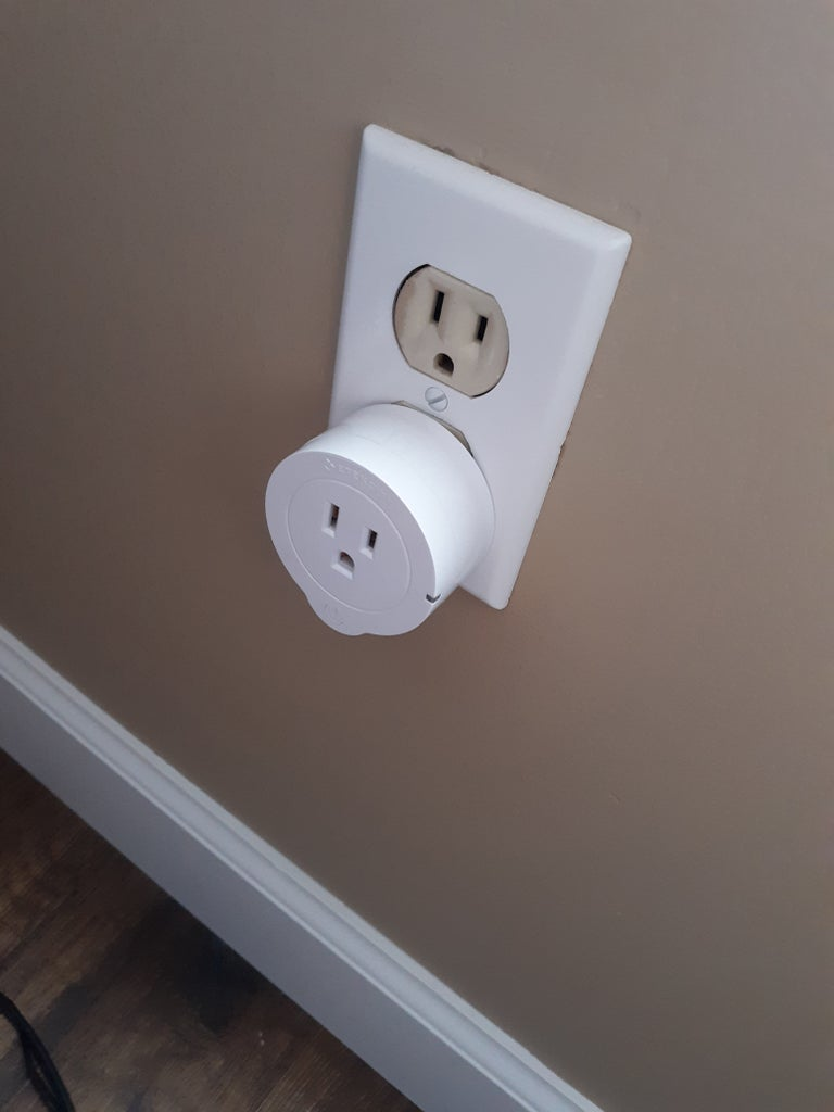 Step 5: Plug in the Smart Outlet