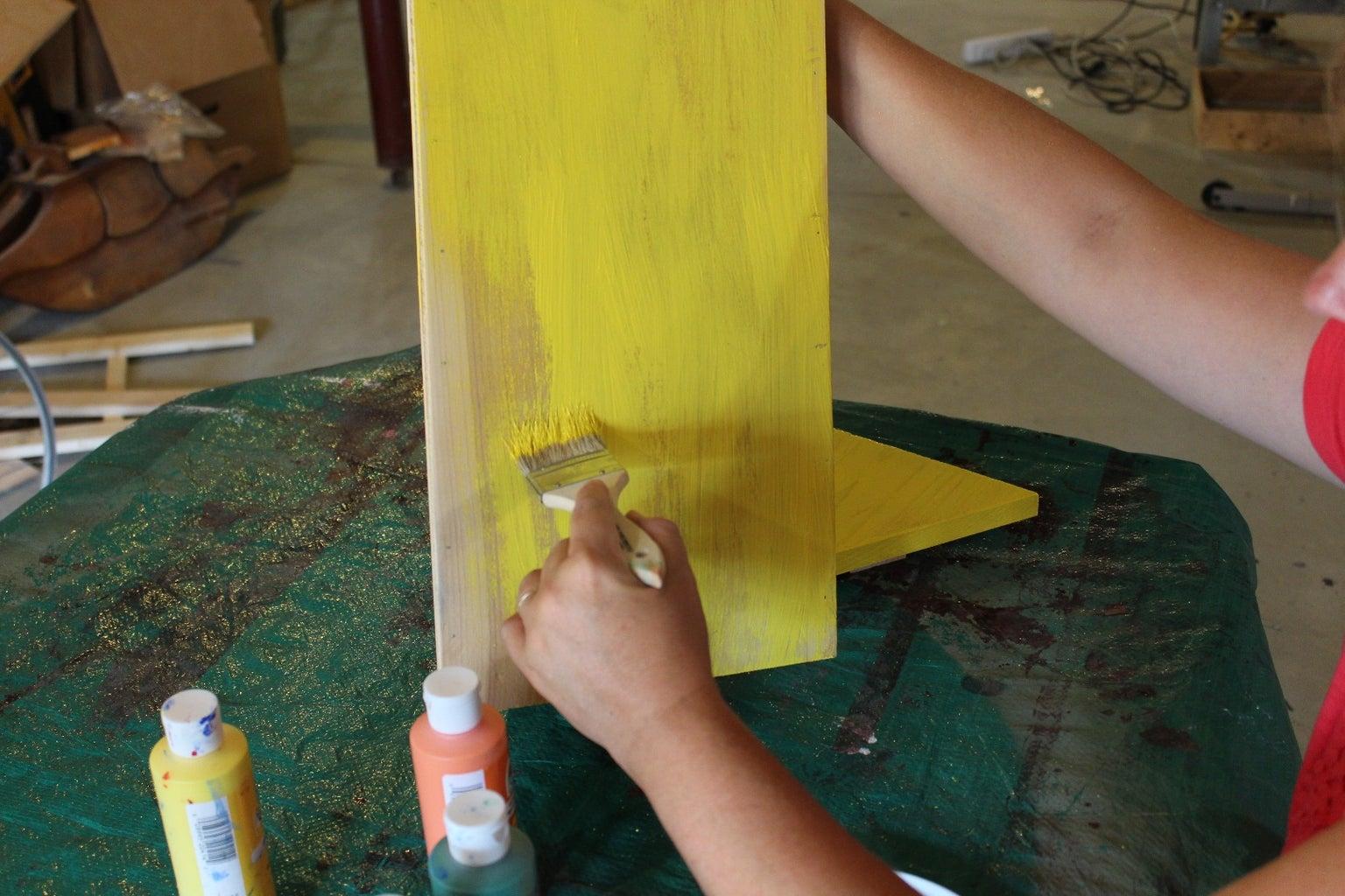 Paint - Step 1
