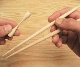 DIY筷子和筷子架