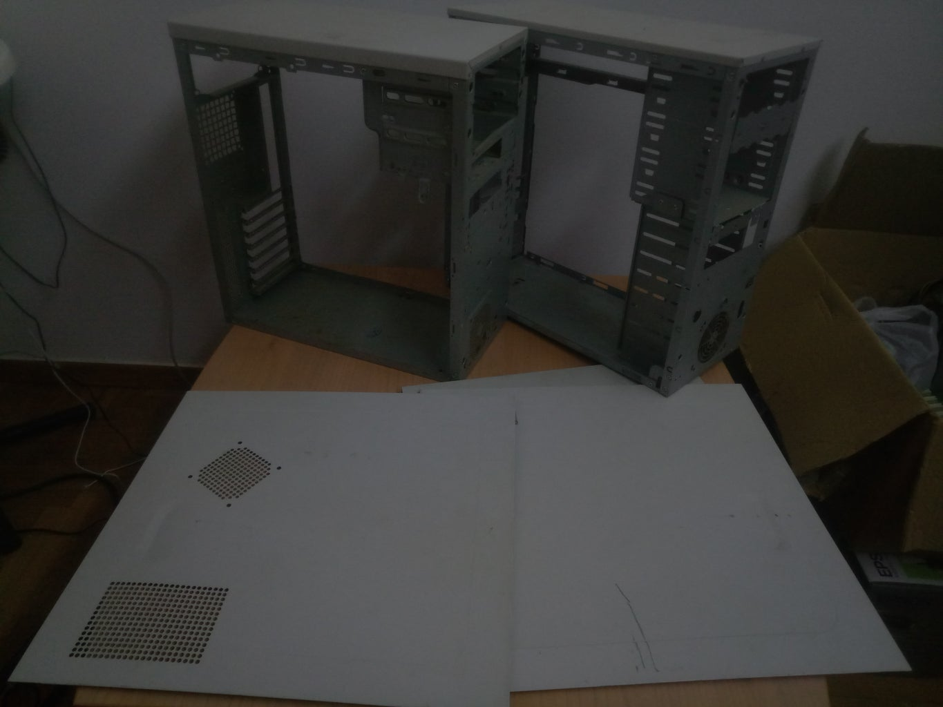 Convert Old Computer Cases to Useful Furniture