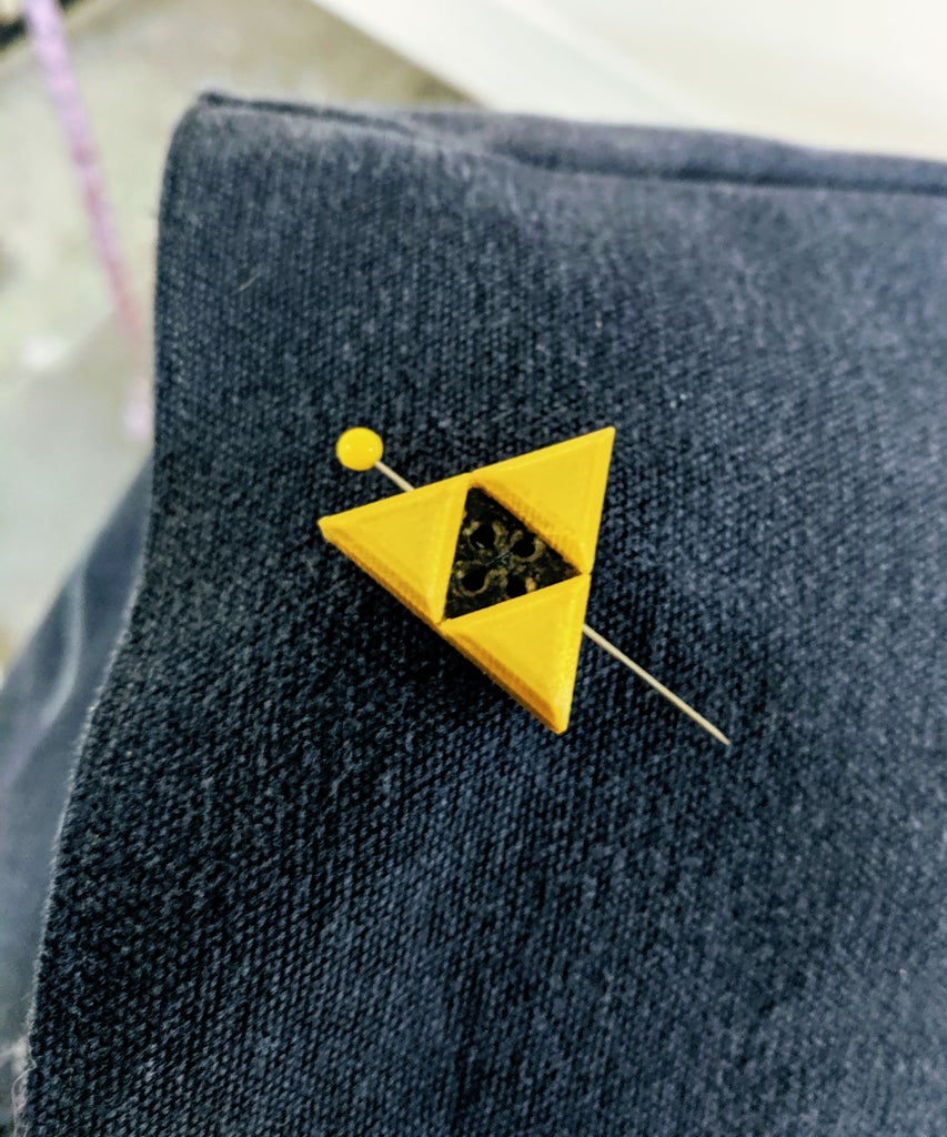 Attaching the Triforce!