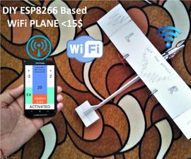 DIY WiFi Controlled Tiny Plane <15$