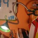 DIY led desk lamp