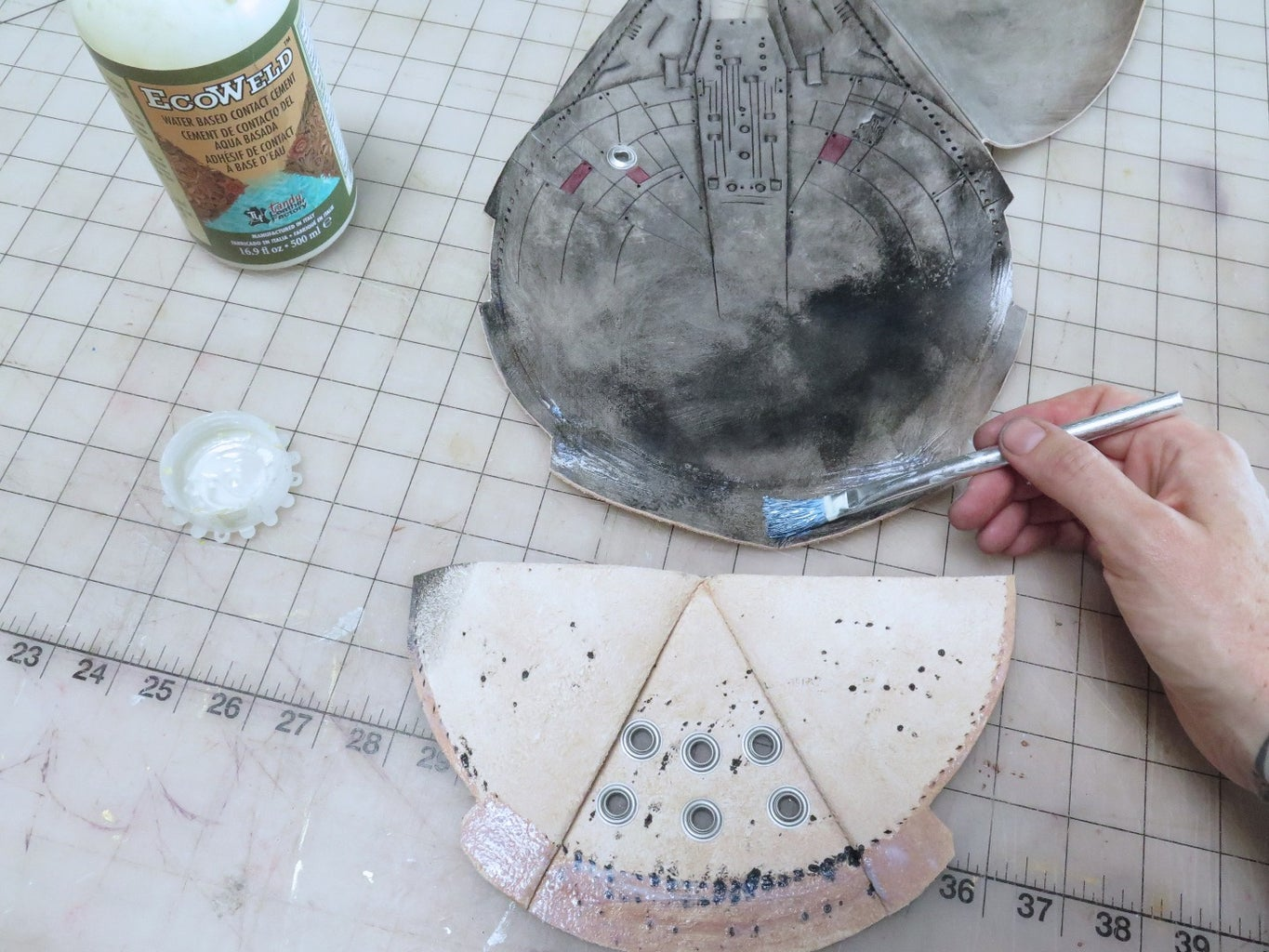 Gluing and More Stitch Punching