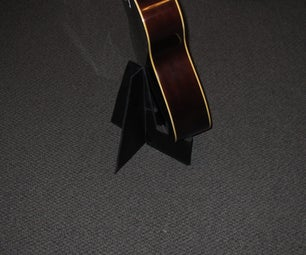 Mystery Guitar Stand