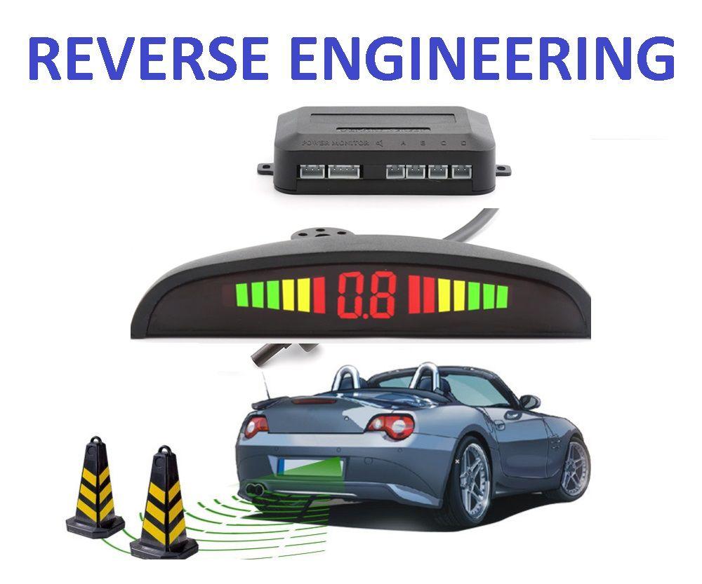 (((o  Reverse Engineering Car Parking Sensor  O)))