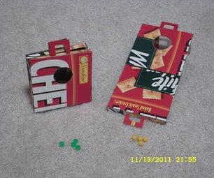 Foldable Pocket-Sized Cornhole Game