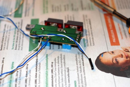 Preparing Switches and Power Led