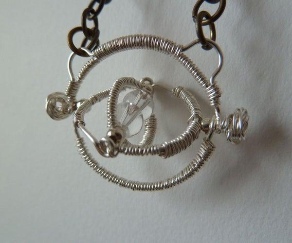 Wirework Time Turner Pendant