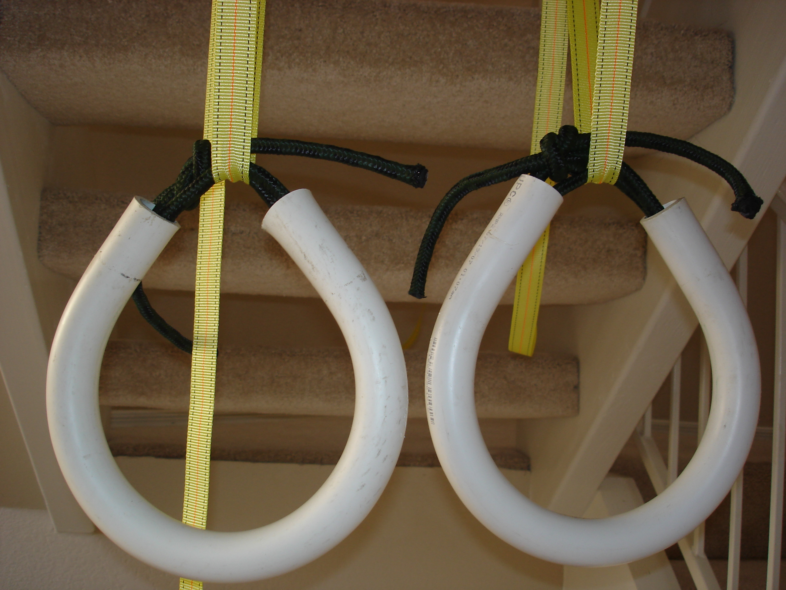How to make PVC gymnastic/ fitness rings