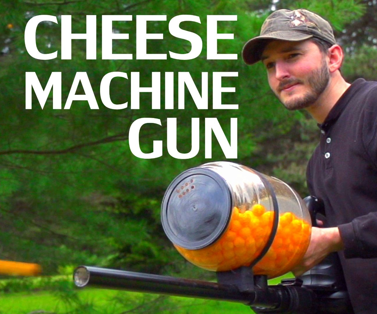Cheese Ball Machine Gun