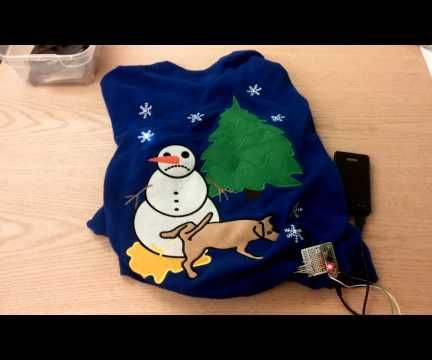 Blinky Ugly Sweater