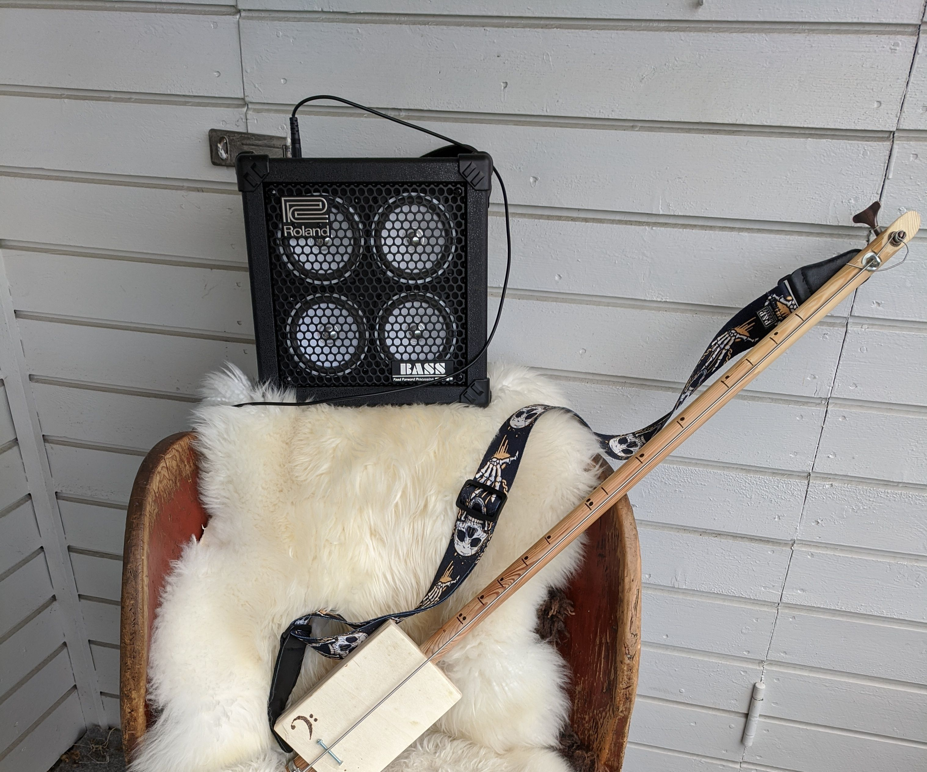 Electric Diddley Bow Bass