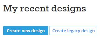 Create New Design