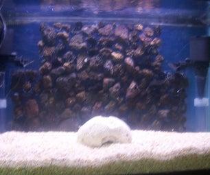 Lava Rock Aquarium Background