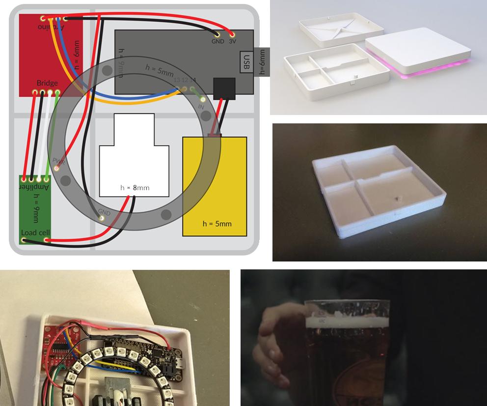 DIY Smart coaster