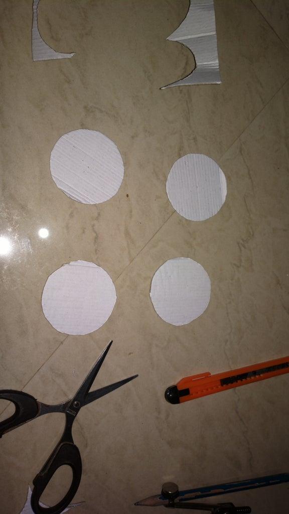 Cutting the Paper Cardboard
