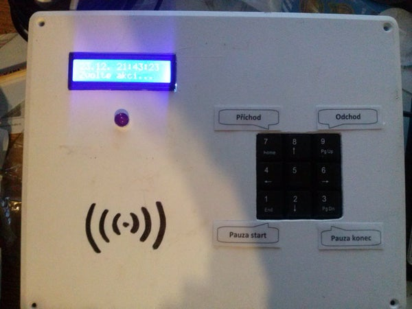 Attendance System Using Raspberry Pi and NFC Tag Reader
