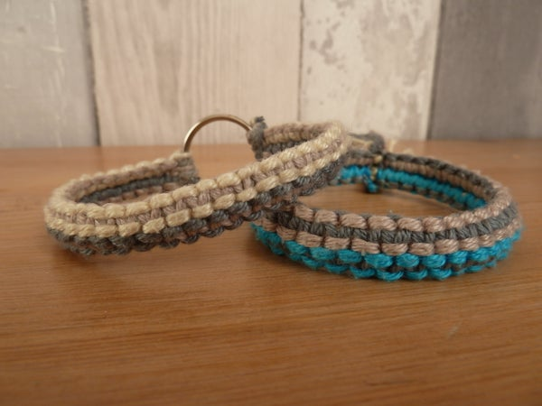 Double Macrame Bracelet