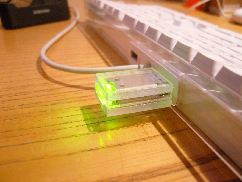 Acrylic USB Case Hack