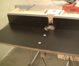 Router Table Fence for the Mafell Erika Table Saw