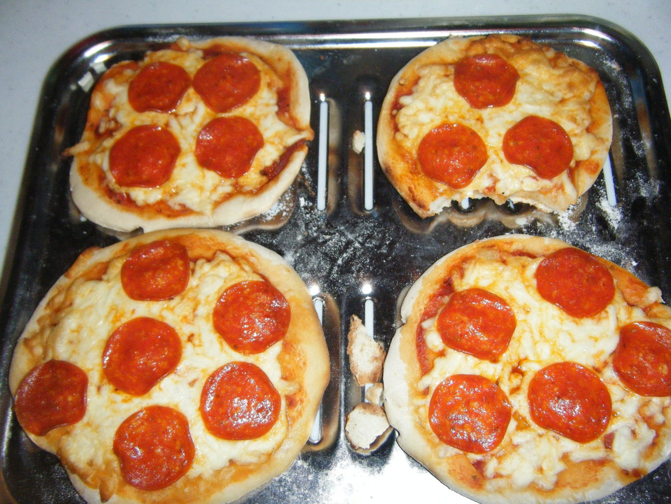 Grill the Pizza