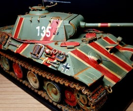 Make Rc Panther a Tank