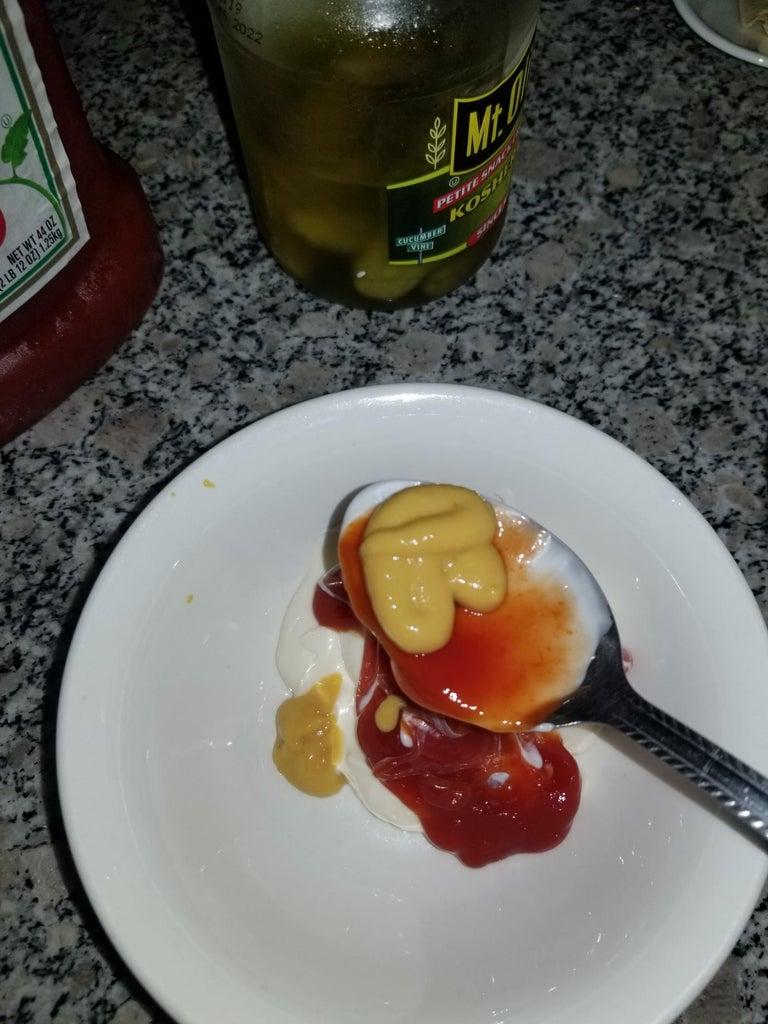 Step 7: Sauce Time!
