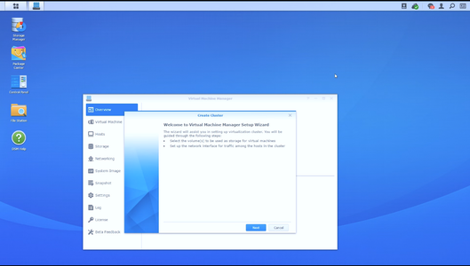 Install the Virtual Machine Manager