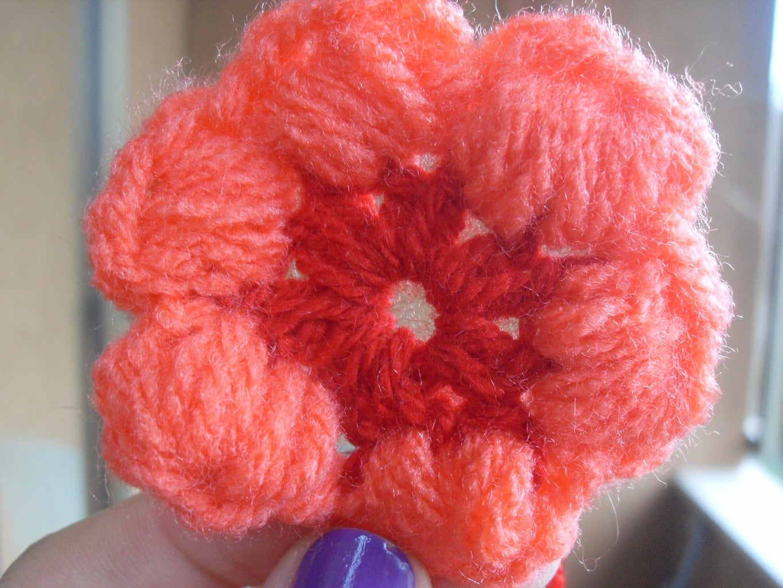 How to Make Six Petal Puff Flower Crochet