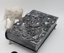 如何将一本书抬起一本珠宝盒