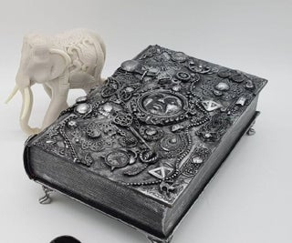 How to Upcycle a Book Into a Jewellery Box