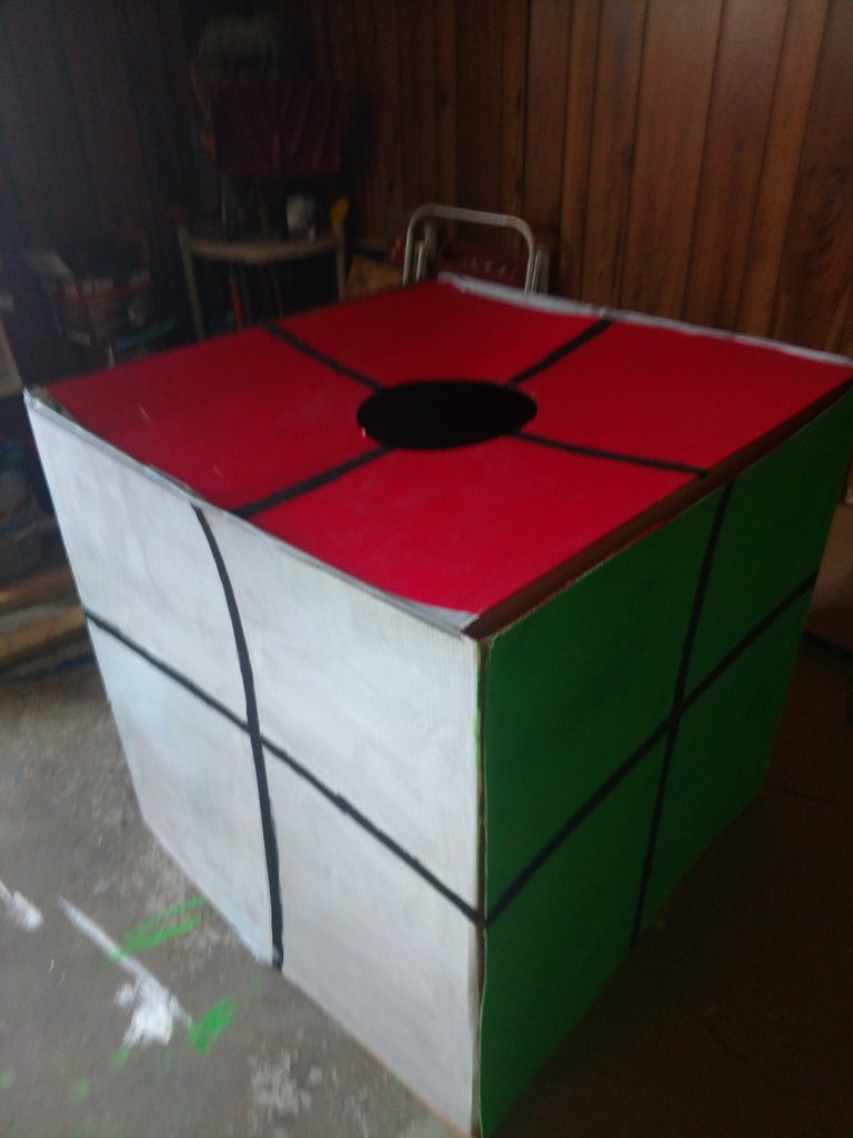 Halloween Rubik's Cube 2×2