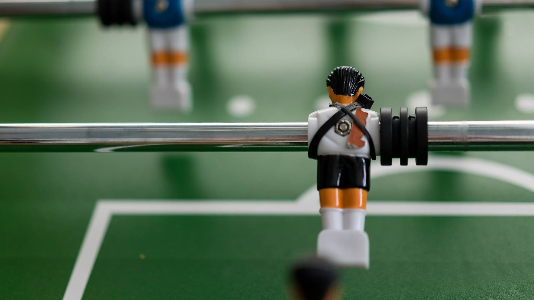 Place the Rod Back to the Table and Enjoy Another Couple of Years of Playing Foosball