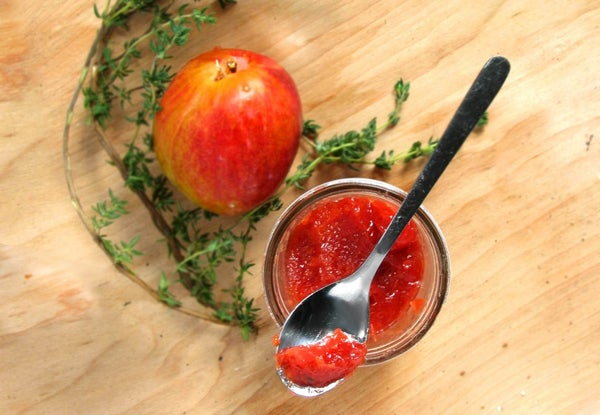 Roasted Red Plum & Thyme Jam