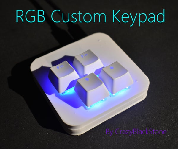 STM32-based Custom Gaming Keypad With RGB (Originally Made for Osu!)