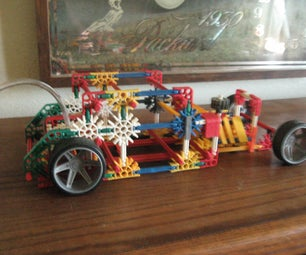 Knex Model a Coupe Rat Rod Bagged
