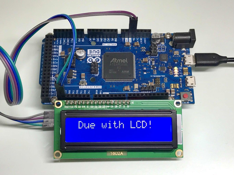 5V LCD Display With Arduino Due 3.3V I2C