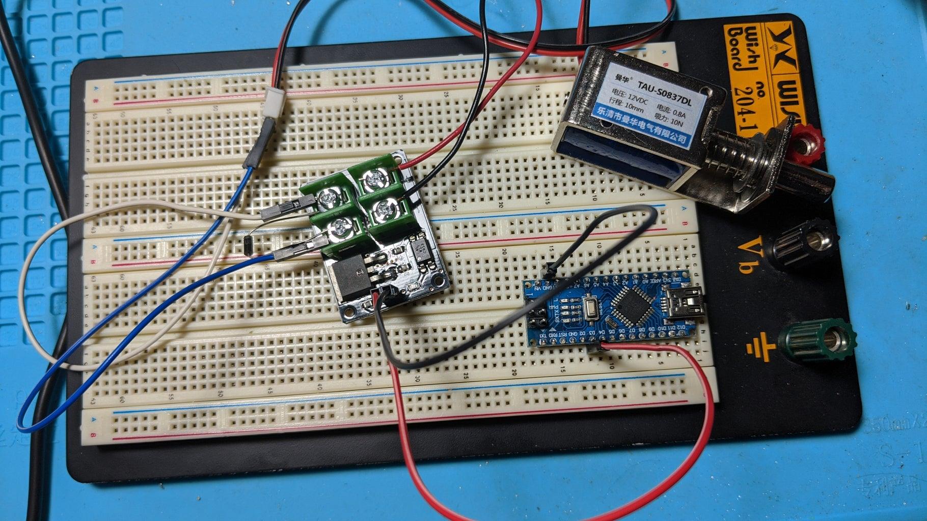 Wire the Arduino (High-Power Version)