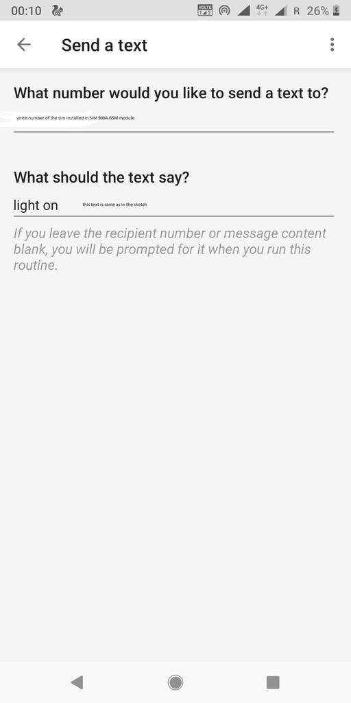 Setup Google Assistant
