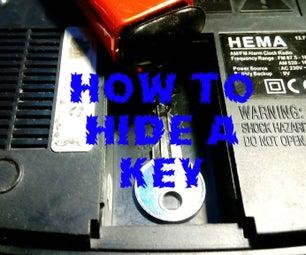 Grazy Simple Key Hiding Place